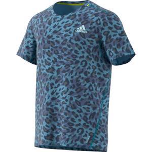 adidas アディダス FAST PRIMEBLUE Tシャツ GRAPHIC MEN 25167 ヘイジーBLU|spg-sports