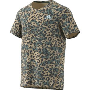 adidas アディダス FAST PRIMEBLUE Tシャツ GRAPHIC MEN 25167 ヘイジーBGE|spg-sports