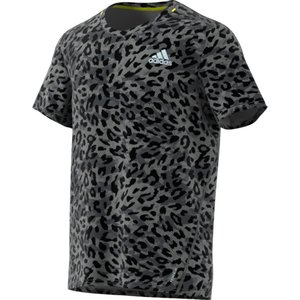 adidas アディダス FAST PRIMEBLUE Tシャツ GRAPHIC MEN 25167 GRYフォー|spg-sports