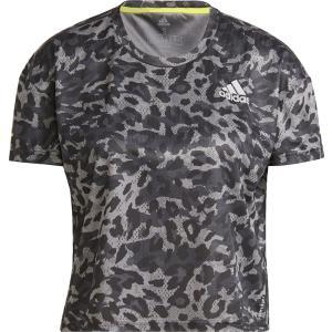 adidas アディダス FAST PRIMEBLUE SHORT SLEEVE Tシャツ W 25247 GRYフォー/マルチカラ|spg-sports