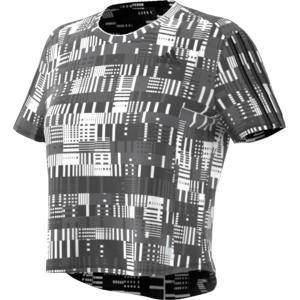 adidas アディダス OWN THE RUN PRIMEBLUE Tシャツ W 25248 BLK/WHT|spg-sports