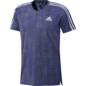 adidas アディダス OWN Tシャツ RUN PRIMEBLUE Tシャツ 25290 セミナイトフラッシュ/B|spg-sports