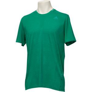 adidas(アディダス) (メンズ ランニングウェア) Snova リフレクト半袖TシャツM DKW12 ボールドGRN|spg-sports