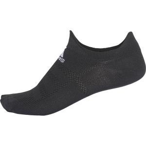adidas(アディダス) ALPHASKIN ウルトラライト アンクルソックス ECG34 BLK/WHT|spg-sports