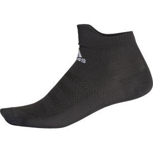 adidas(アディダス) ALPHASKIN ウルトラライト ショートソックス ECG50 BLK/WHT|spg-sports