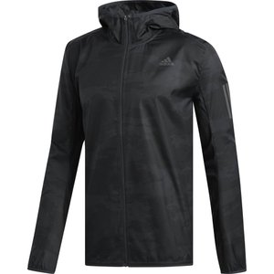 adidas(アディダス) RESPONSEフード付グラフィックウィンドジャケットM EWD85 カーボンS18|spg-sports