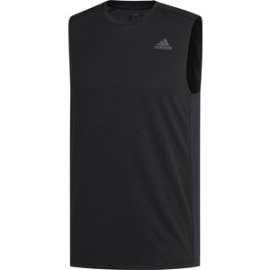 adidas アディダス  オウン ザ ラン ノースリーブTシャツM FRP76 BLK|spg-sports