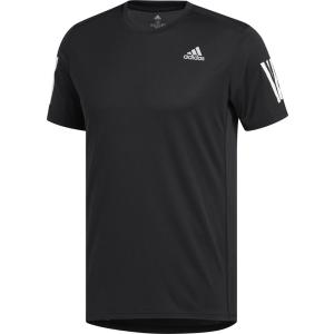 adidas(アディダス) オウン ザ ラン TシャツM FWB26 BLK/WHT|spg-sports