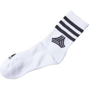 adidas(アディダス) TAN クルーソックス FXF33 BLK/WHT|spg-sports