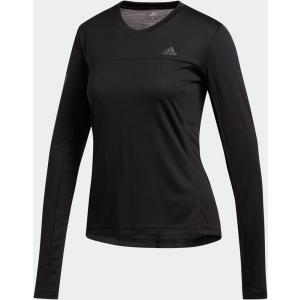 adidas(アディダス) OTR LS Tシャツ レディース FYT15 BLK|spg-sports