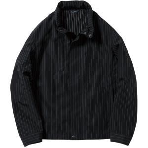 BONMAX ボンマックス 【メンズ カジュアルウェア】 スタイリッシュジャケット ストライプ  MJ0071 ブラック spg-sports