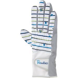 PARADISO パラディーゾ  レディース 硬式テニス用グローブ 両手用  フルタイプ BACV15 WL|spg-sports