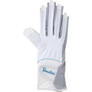 PARADISO パラディーゾ  レディース 硬式テニス グローブ 両手用  ネイルスルー・手のひら側穴あきタイプ BACV17|spg-sports