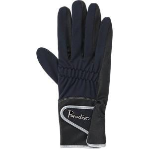 PARADISO パラディーゾ  レディース テニスグローブ フルタイプ BACV22 ブラック|spg-sports