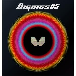 バタフライ Butterfly 裏ラバー DIGNICS 05 ディグニクス05 06040 レッド|spg-sports