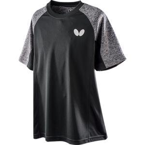 バタフライ Butterfly  ショルスト・Tシャツ 男女兼用 ユニセックス 卓球Tシャツ SHOLST T−SHIRT  45670 ブラック|spg-sports