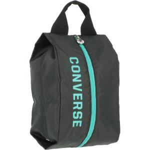 CONVERSE コンバース シューズケース S  C2001097 ブラック/エメラルド spg-sports