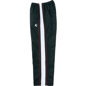 CONVERSE(コンバース) バスケットボールウェア ウォームアップパンツ 裾ボタン 男女兼用 CB112501P ブラッ spg-sports