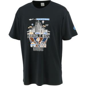 CONVERSE コンバース プリントTシャツ CB211361 ブラック spg-sports
