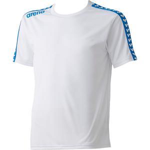 ARENA アリーナ  チームラインTシャツ ARN−6331 ARN6331 ホワイト|spg-sports