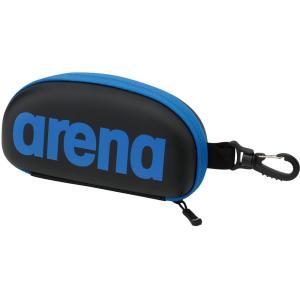 ARENA(アリーナ) ゴーグルケース ARN6442 ブラック/ブルー|spg-sports