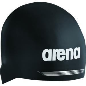 ARENA(アリーナ) 【男女兼用 スイムキャップ】 シリコンキャップ ARN7400 ブラック|spg-sports