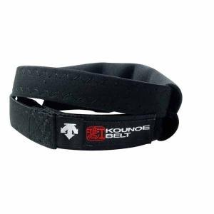 デサント(DESCENTE) Kounoe Belt コウノエベルト 膝用 DAT8103 ブラック|spg-sports