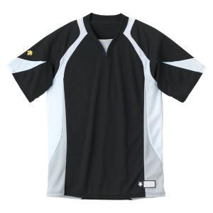 デサント DESCENTE セカンダリーシャツ DB−113 DB113 BKWH|spg-sports