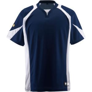 デサント DESCENTE セカンダリーシャツ DB−113 DB113 NVWH|spg-sports