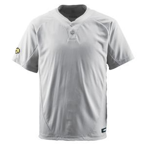 デサント DESCENTE  【野球】 ベースボールシャツ DB−201 DB201 シルバー spg-sports