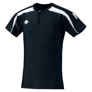 デサント DESCENTE トラックシャツ DRN−5102 DRN5102 BKWH|spg-sports