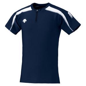 デサント DESCENTE トラックシャツ DRN−5102 DRN5102 NVWH|spg-sports