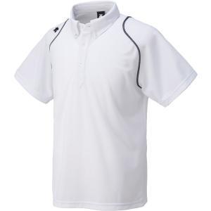 デサント DESCENTE ボタンダウンポロシャツ  DTM-4600 DTM4600 ホワイト...