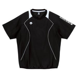 デサント(DESCENTE) 半袖プラクティスピステ DVB3322 ブラク/ホワイト|spg-sports