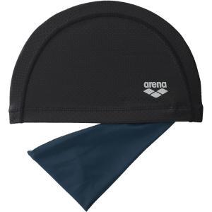ARENA(アリーナ) ヘアバンド付き2WAYシリコンキャップ FAR8905 ブラック