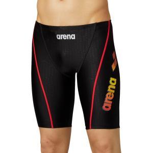 ARENA アリーナ  ロングボックス アクアエクサカット  LAR−0300 LAR0300 ブラック/レッド|spg-sports