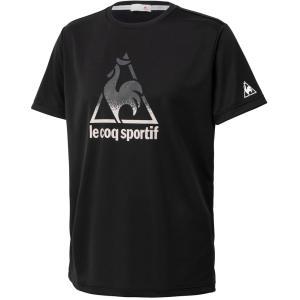 le coq sportif ルコック 【テニス】 メンズ 半袖シャツ QTMQJA06 ブラック|spg-sports