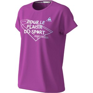 le coq sportif ルコック   テニス  レディース 半袖シャツ QTWPJA07 LLV|spg-sports