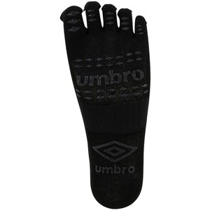 UMBRO アンブロ 5フィンガーショートストッキング UAS8622 ブラック|spg-sports
