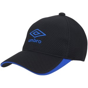 UMBRO アンブロ  Jr.ハッ水メッシュキャップ UUDRJC01 BK|spg-sports