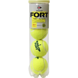 DUNLOP(ダンロップテニス) テニスボール_ダンロップフォート4ヶ入り DFCPEYLPT4|spg-sports