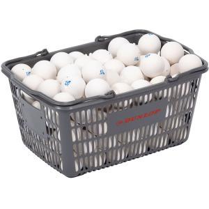 DUNLOP(ダンロップテニス) DUNLOP ダンロップ ソフトテニスボール練習球 10ダース入りバスケット DSTBPRA2CS|spg-sports