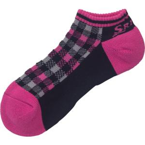 SRIXON スリクソン 【レディース テニス用靴下】 アンクルソックス SPO6718W ブラックP|spg-sports