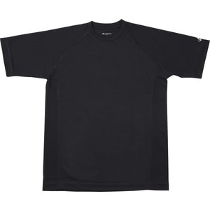 ファイテン(PHITEN) RAKUシャツSPORTS(吸汗速乾)半袖ブラック S JF899103|spg-sports