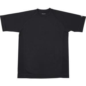 ファイテン(PHITEN) RAKUシャツSPORTS(吸汗速乾)半袖ブラック 3L JF899107|spg-sports