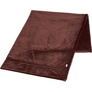 ファイテン(PHITEN) Phiten 星のやすらぎ ストレッチ掛け毛布 ワインブラウン シングル YO624086|spg-sports