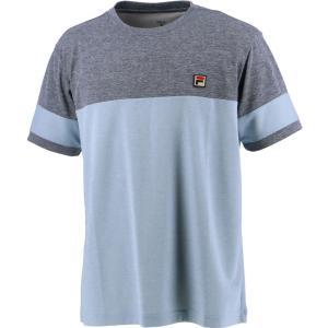 FILA フィラ メンズ ゲームシャツ VM5536 フィラネイビー|spg-sports