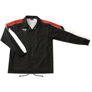 ウィンドアップジャケット BK5340 ブラックXレッド|spg-sports
