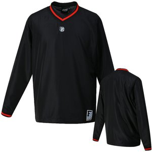 ウィンドブレーカージャケット BKC3000 ブラックXレッド|spg-sports