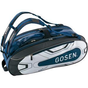GOSEN ゴーセン ラケットバッグ Pro4(ラケット4本入) BA18PR4G ネイビー